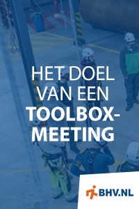 Wat is een toolboxmeeting?